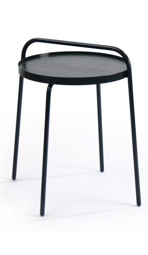 Bucket side table black by Patrick Hartog
