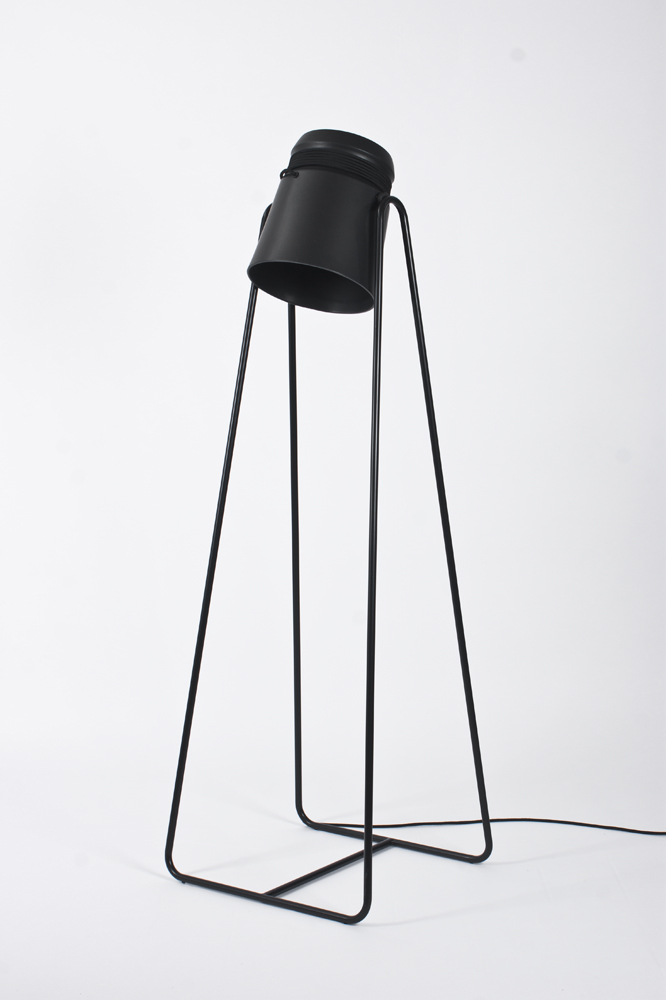 Cable light floor lamp designed by patrick hartog
